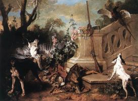 Жан-Батист Удри. Собаки и мертвые животные
