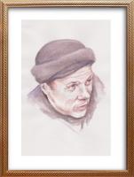Иван Александрович Долгоруков. Акварельный портрет Джунио Валерио Боргезе