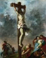 Эжен Делакруа. Христос на кресте