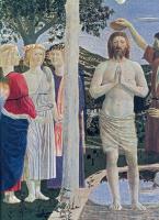 Пьеро делла Франческа. Крещение Господне (фрагмент)