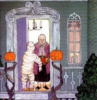 Ян Бретт. Кошелек или жизнь! Это Хэллоуин