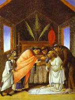 Сандро Боттичелли. Последнее причастие святого Иеронима