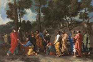 Рукоположение. Вручение ключа Святому Петру