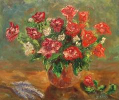 Лариса Луканева. Красные розы