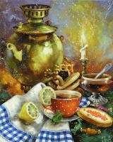 Сергей Юрьевич Боев. Чай с лимоном. 2017