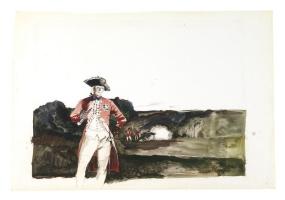 Andrew Wyeth. Британский генерал в Брендивайн