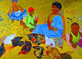 Эдуард Поникаров. На рынке (Мадагаскар)