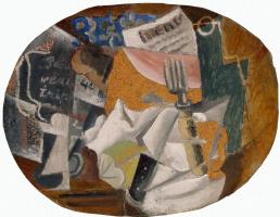 Пабло Пикассо. Харчевня (Ветчина)