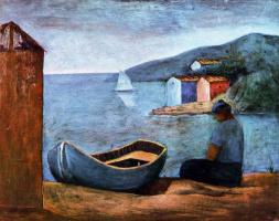 Карло Карра. Синяя лодка