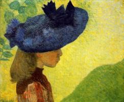 Аристид Майоль. Синяя шляпа