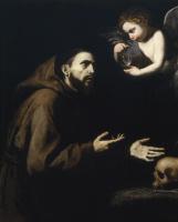 Хосе де Рибера. Св. Франциск Ассизский и ангел с водой