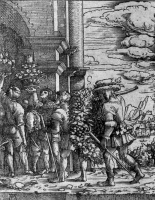 Альбрехт Альтдорфер. Посланцы в землю Ханаанскую с виноградной гроздью
