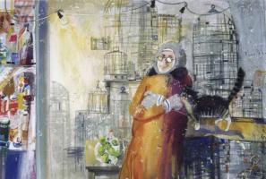 Валерий Валентинович Архипов. Антоновка.  1998