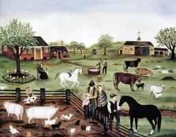 Марта Каун. На ферме