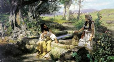 Генрих Ипполитович Семирадский. Христос и самарянка