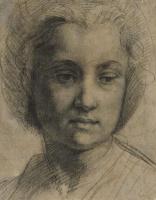 Андреа дель Сарто. Голова молодой женщины