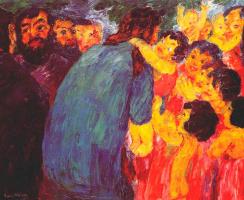 Эмиль Нольде. Иисус и дети