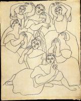 Пабло Пикассо. Танцоры сентября
