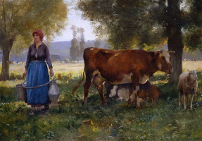 Жюльен Дюпре. Молоко
