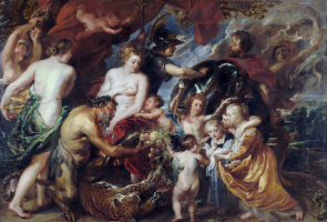 Peter Paul Rubens. Allegory of war and peace