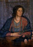 Жан Дельвиль. Портрет жены художника