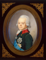 Жан Беннер. Портрет императора Павла I