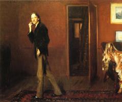 Роберт Льюис Стивенсон и его жена