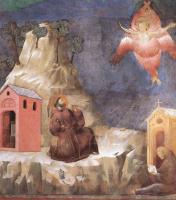 Джотто ди Бондоне. Стигматизация Святого Франциска