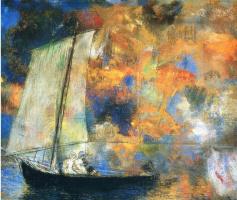 Одилон Редон. Цветочные облака