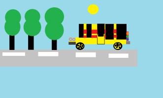 Unknown artist. Bus