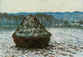 Claude Monet. Haystack