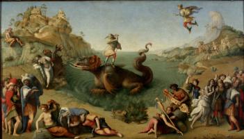 Пьеро ди Козимо. Персей спасает Андромеду