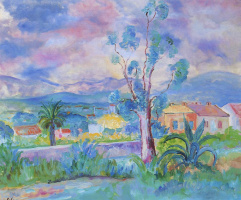 Henri Lebasque. Landscape in Provence