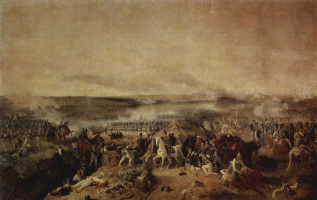 Петер фон Хесс. Бородинская битва