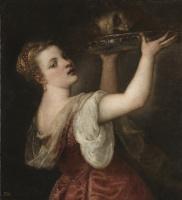 Тициан Вечеллио. Саломея с головой Иоанна Крестителя