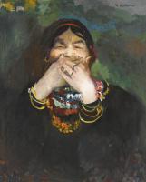Филипп Андреевич Малявин. Смеющаяся баба