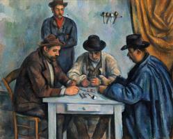 Поль Сезанн. Игроки в карты
