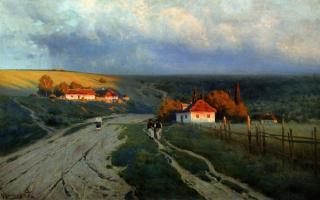 Константин Яковлевич Крыжицкий. Вечер на Украине