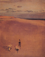 Джеймс Эббот Макнейл Уистлер. Пляж в Селси Билл