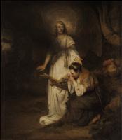 Карел Фабрициус. Агарь и ангел