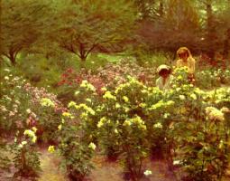 Аллан Бэнкс. Желтые розы