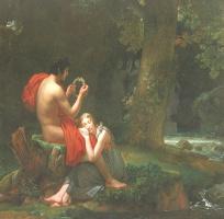 Франсуа Паскаль Симон Жерар. Влюбленные в лесу