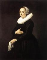 Франс Хальс. Женский портрет (Корнелия ван дер Меер)