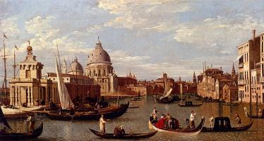 Giovanni Antonio Canal (Canaletto). Grand canal