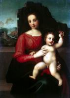Франческо Франчабиджо. Мадонна с младенцем