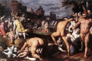 Корнелис ван Харлем. Избиение младенцев