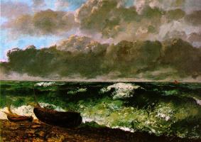 Гюстав Курбе. Морской шторм