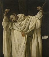 Francisco de Zurbaran. Saint Serapion