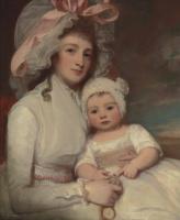 Джордж Ромни. Портрет миссис Агнес Эйнсли с сыном Генри