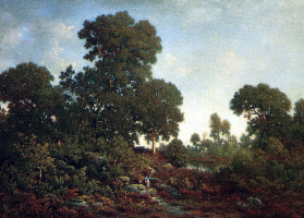 Theodore Rousseau. Forest